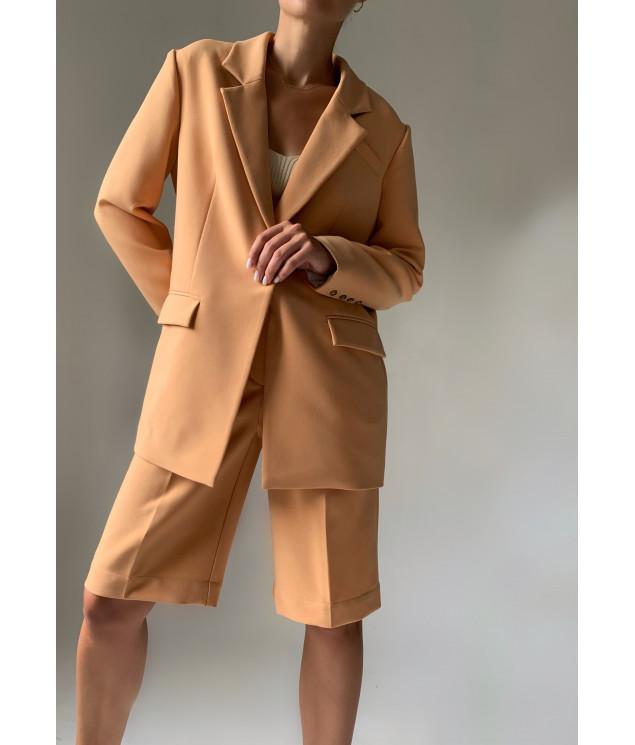 Suit jacket and bermuda shorts