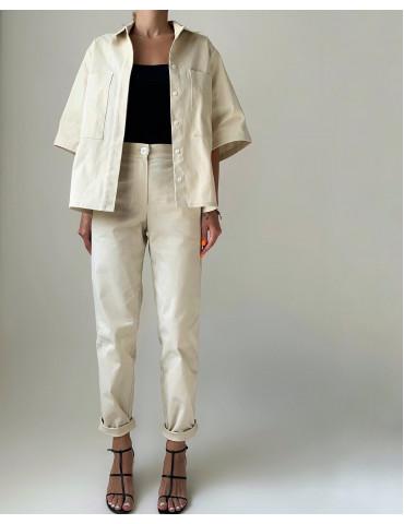 Thick cotton suit